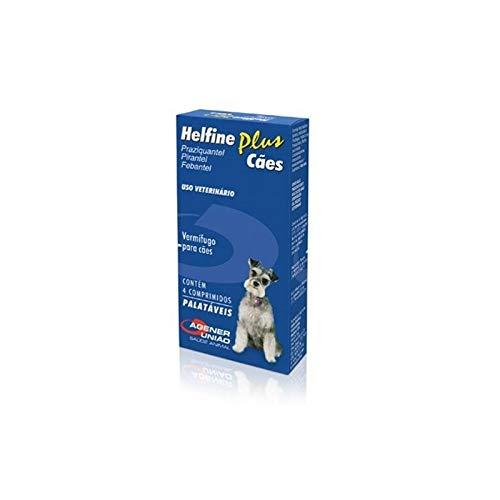 Helfine Caes 4 comprimidos