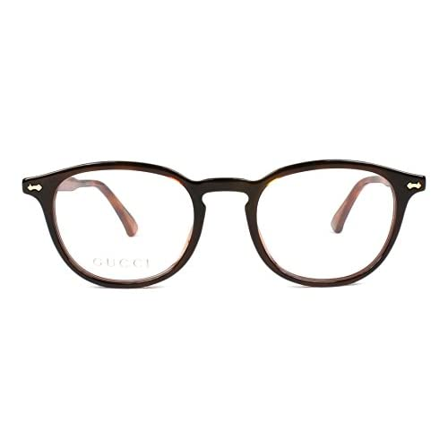 2949853bb4 Gucci GG0187O HAVANA / TRANSPARENT (004) - Monturas de gafas Mejor ...
