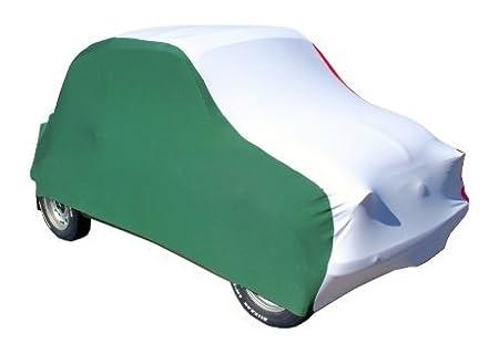 Tricolore traspirante SMJ10.14 elasticizzato SU MISURA. Telo Copriauto Jolly antipolvere