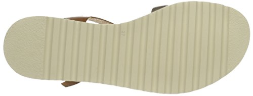 Pikolinos Damen Alcudia W1l_v17 Offene Sandalen mit Keilabsatz Braun (Brandy)