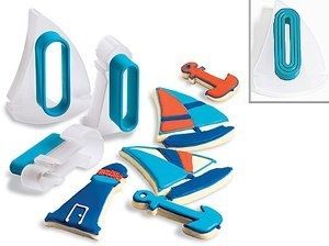 Cuisipro Cookie Cutter Set - Snap Fit - Nautical