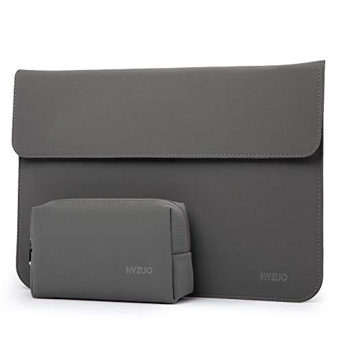 estuche + bolso para notebook 13 pulgadas gris HYZUO