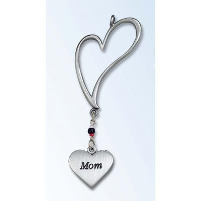 MOM Heart Angel Mirror/ LOVE CAR AUTO CHARM / Ornament ~ EASTER/Christmas Stocking Stuffers ~ Birthday Holiday Mother's Day Gifts ~ Valentine ~ Safe PROTECT Car charm ~ Decor Auto