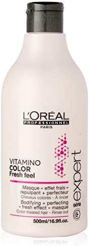 L Oreal Professional Series Expert Vitamin Color Fresh Feel Masque, 16.9 Ounce