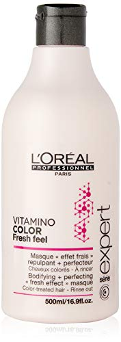 L'Oreal Professional Series Expert Vitamin Color Fresh Feel Masque, 16.9 Ounce