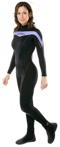 Henderson Women's Premium 3MM Thermoprene Shorty, Lavender, 8 - Diving