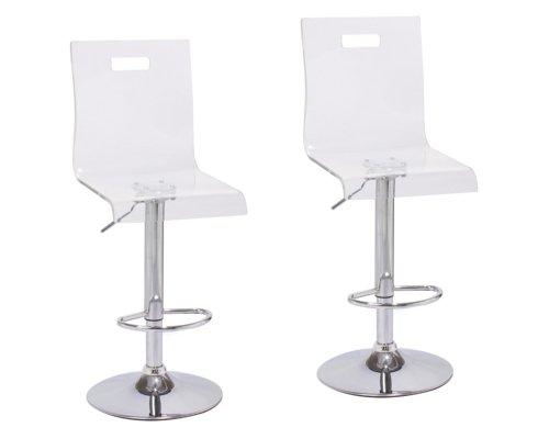 2 x Acrylic Hydraulic Lift Adjustable Counter Bar Stool  : 31vWvG5 ReL from www.kancyl.com size 500 x 400 jpeg 11kB