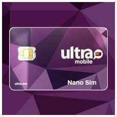 Ultra Mobile SIM card for Apple iPhone 7 & 7+ Unlocked GSM Smartphone