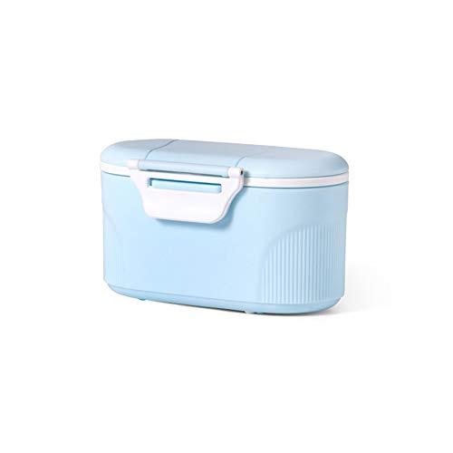 SODIAL 2 St/üCke Baby Formel Milch Lagerung Kleinkinder Tragbare Milch Pulver Formel Dispenser Lebensmittel Beh?Lter Lagerung F/üTterung Box f/ür Kinder Lebensmittel PP Box Blau