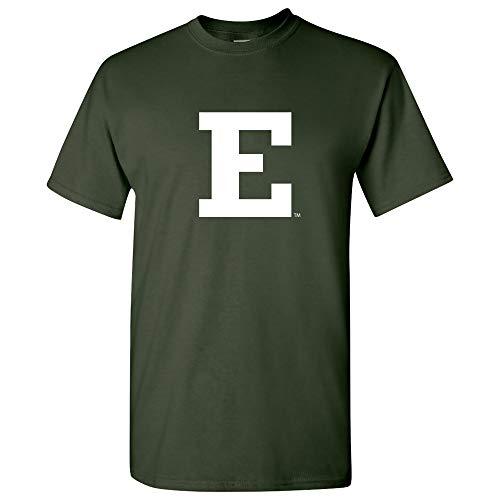 Eastern Football Michigan (AS02 - Eastern Michigan Eagles Primary Logo T-Shirt - Medium - Forest)