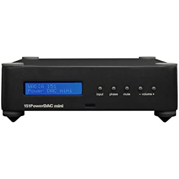 wadia 151 powerdac mini digital integrated amplifier black electronics. Black Bedroom Furniture Sets. Home Design Ideas