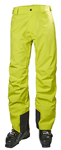 Helly Hansen Men's Legendary Cold Weather Winter Snowboard and Ski Pants, Sweet Lime, Large