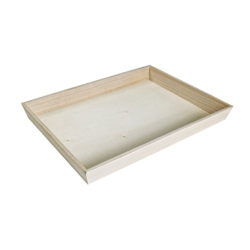 - Noah39 Heavy Duty Wooden Tray (Case of 10), PacknWood - Biodegradable Serving Wood Table Trays (17