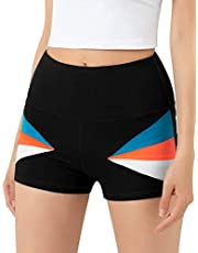 """ALONG FIT Yoga Shorts 5"""" - 11"""" Biker Shorts for Women with Pockets High Waisted Running Workout Short Tummy Control"""