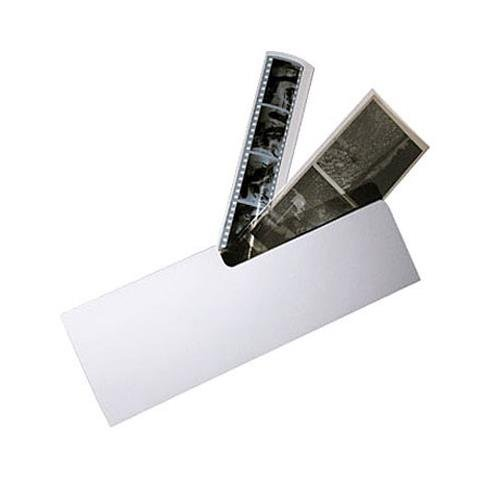Archival Methods Card Stock Negative File Folder, 3-1/2 x 10-1/4 Holds 6 Exposures, Package 50