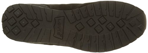 Levi's Ny Runner Tab, Zapatillas para Hombre Negro (Noir)