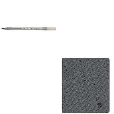 KITAAG70260X45BICGSM11BK - Value Kit - At-a-Glance Monthly Planner (AAG70260X45) and BIC Round Stic Ballpoint Stick Pen (Aag70260x45 Monthly Planner)