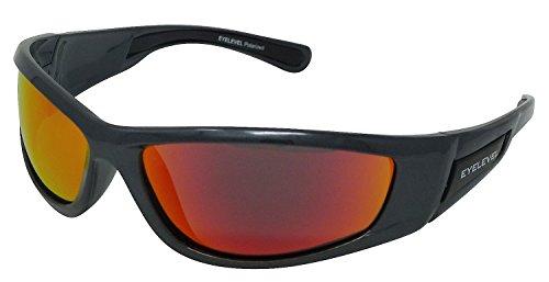 sol 3 con de rojo polarizadas Gafas UV400 Predator Cat espejo v87TwqEaIx
