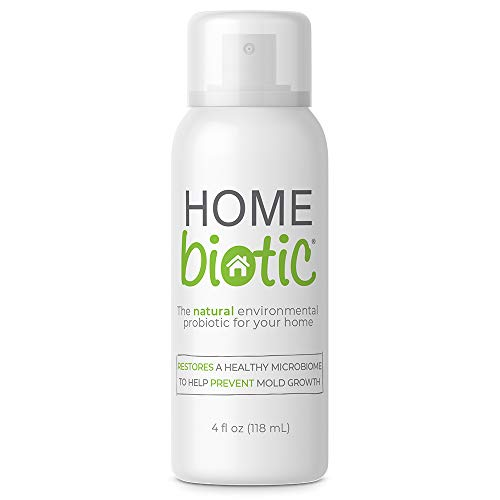 Homebiotic All Natural Home Probiotic Spray Cleanser, Eliminates and Protects Against Germs and Molds, Sanitizes and Removes Bad Odors, Kids and Pet Safe, Non GMO, 118ml