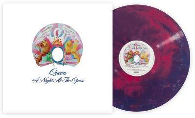 Queen A Night At The Opera Exclusive Club Edition Multi Color Galaxy 180gram Vinyl Amazon Com Music