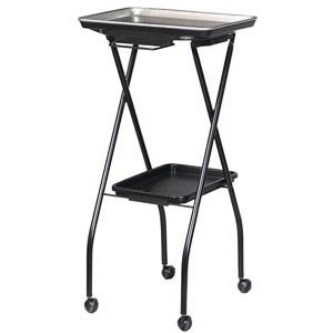 FT59-A Fold-A-Way Coloring Service Cart w/Stain Resistant Aluminum Tray (Fold A Way Service Tray compare prices)