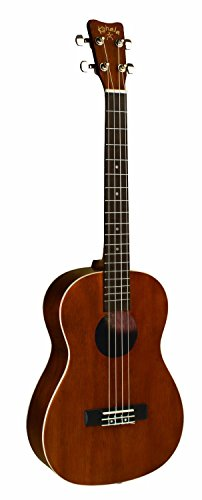 - Kohala AKAMAI AK-BAE Acoustic/Electric Baritone Ukulele with Passive Pickup
