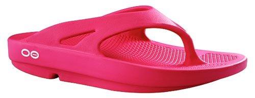 Oofos Unisex Ooriginal Thong Sandals,Pink,2 M US Men / 4 M US Women