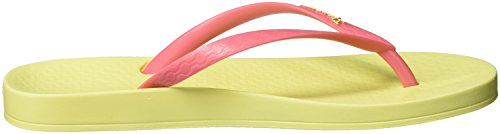 Ipanema Anatomica Tan Fem, Chanclas para Mujer Mehrfarbig (yellow/pink)