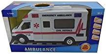 DRIM DISCOUNT Ambulancia con Luz de Juguete