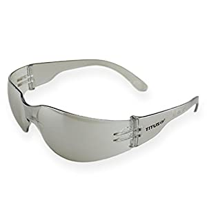 Titus G8 Tinted Ice Mirror - Sports Riders Safety Glasses (Standard, Standard)