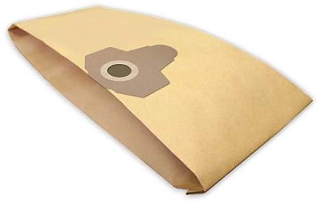 10 bolsas de aspiradora L 4 en papel compatible con Parkside ...