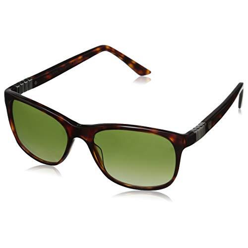 Tag Heuer Legend 9382 303 Square Sunglasses, Tortoise/Gradient Green, 54 mm