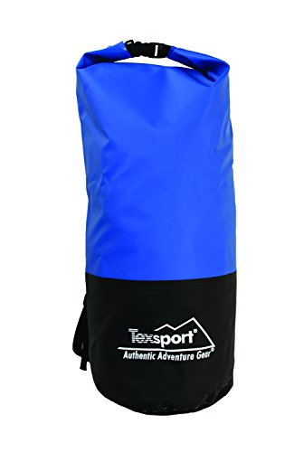 (Texsport Dry Gear Bag (Blue, 21-Inch X 7 1/2-Inch))