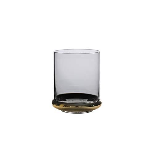 CQ Creative Fashion European Glass Wine Glass Drink Cup Candlestick