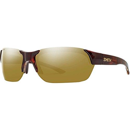 Smith Envoy ChromaPop Polarized Sunglasses – Men's Tortoise/Polarized Bronze Mirror, One Size Review