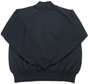 SUZUKI SZ-03 スーパーエキストラファインメリノウール ハイネックセーター(日本製) black ブラック
