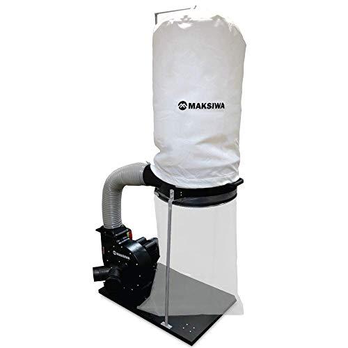 MAKSIWA Dust Collector Black Edition 2HP - 2 Etries - CP/2.C -