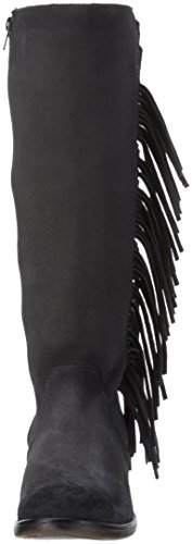 Bunker Flek-SW50, Botas Altas Mujer Negro (Carbon)