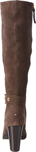 Hilfiger Marron B1285arcelona Coffee Femme Bottes black Tommy 6b FwSaZ1qxx
