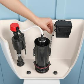 spare parts for toilet flushing system. Installation takes 10 20 minutes for the average person  giving you a touchless flush in no time KOHLER K 1954 0 Touchless Toilet Flush Kit Amazon com