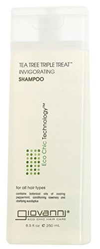 GIOVANNI COSMETICS - Eco Chic Tea Tree Triple Treat - Invigorating Shampoo (8.5 Ounce)