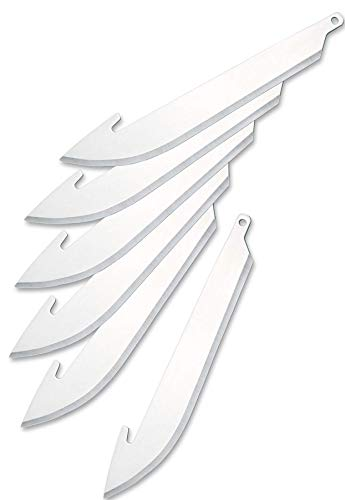 - Outdoor Edge 3.0 Inch Razor Series Replacement Blades -- 6 Blade Pack