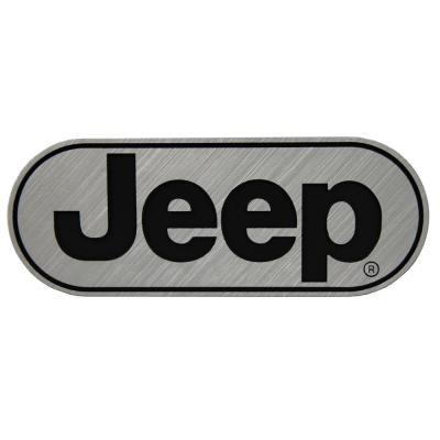 Plasticolor Hitch Covers (Plasticolor 002258R01 Jeep Brushed Chrome Hitch Cover, 1 Pack)