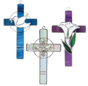 Pre-Cut Three Crosses Kit ()