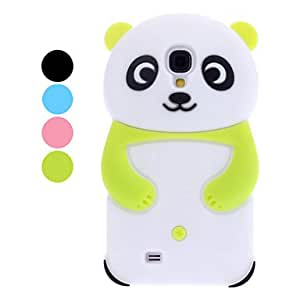3D Design Panda Pattern Soft Case for Samsung Galaxy S4 I9500 (Assorted Colors) , Green
