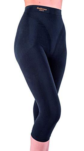 fc4fdc38648a7 Anti cellulite slimming capri pants with caffeine microcapsules - Black  size L
