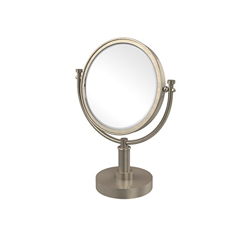 Allied Brass DM-4/2X-PEW 8-Inch Table Mirror with 2x Magn...