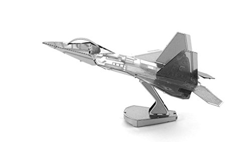 (Fascinations Metal Earth F-22 Raptor Airplane 3D Metal Model Kit)