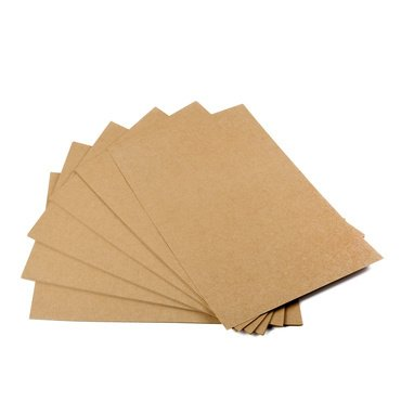 Kraft paper, 50 sheets, A4, natural cardboard, high-quality, natural brown craft card, craft cardboard, 260 g, quality EAST-WEST Trading GmbH