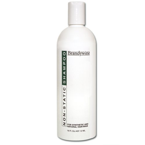 Brandywine Non Static Shampoo 16 oz. (Best Shampoo For Synthetic Wigs)